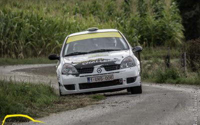 2de seizoenshelft Clio2 Rally Challenge start in Hemicuda Rally